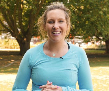 Join ex Bachelor contestant Kate Cameron on her health and wellness journey