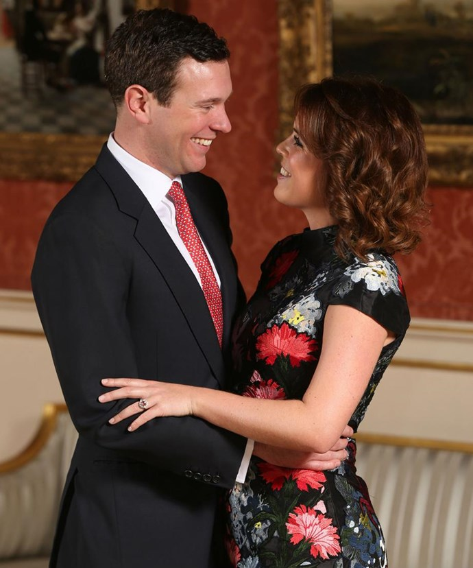 Eugenie and Jack began dating in 2011 after they met while skiing in the Swiss resort of Verbier.