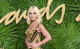 Donatella confirms we've all been pronouncing Versace wrong