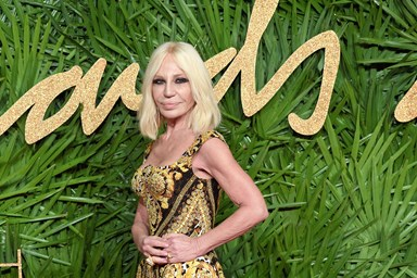 Donatella confirms we've all been pronouncing Versace wrong