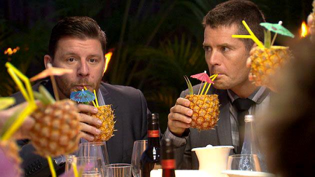 Manu and Pete pretty much both agree that pineapples are best enjoyed on their own - or in cocktails.
