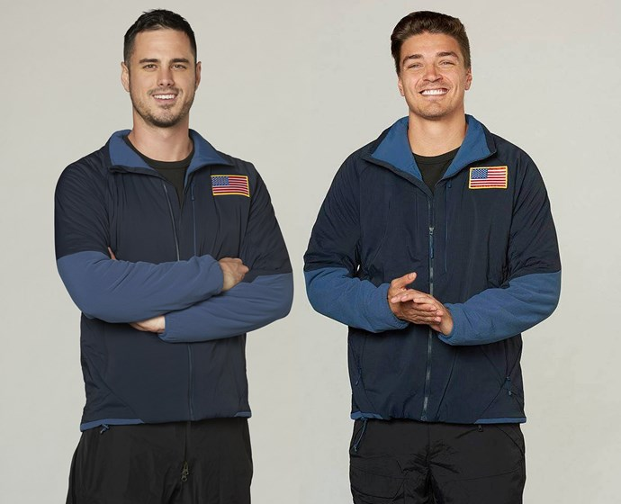 Lily's partners in crime Ben Higgins, L and Michael Garofola