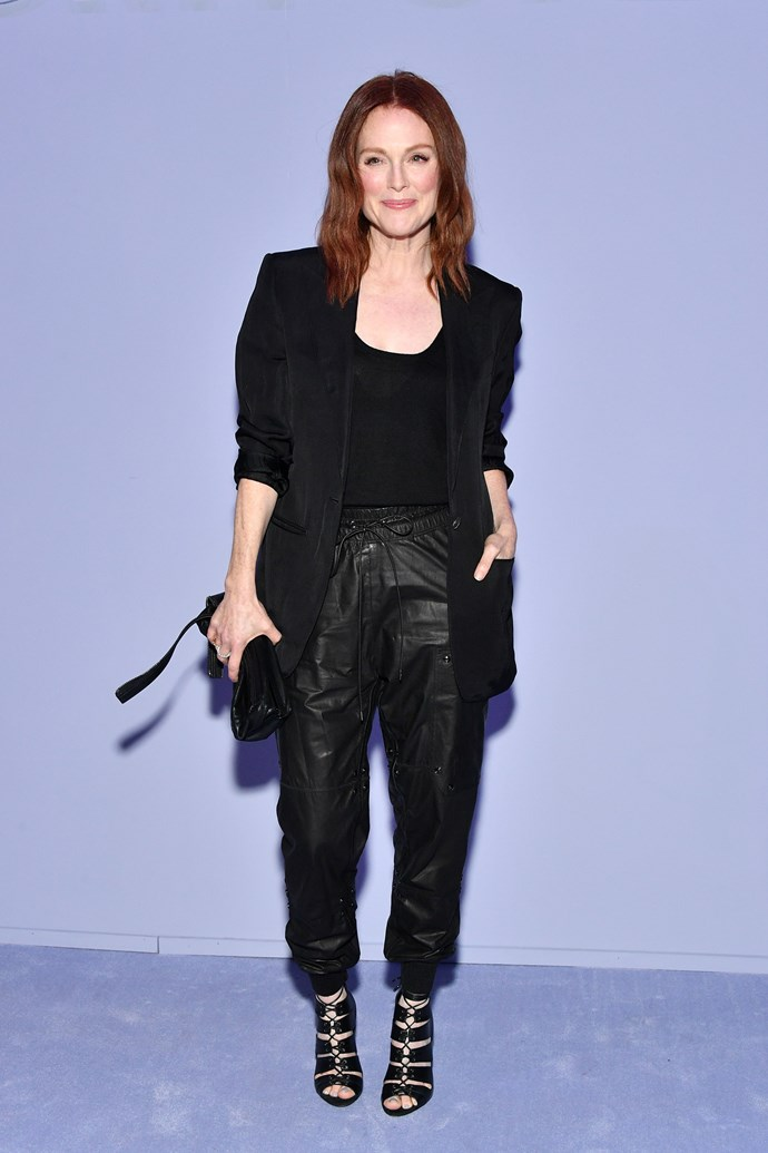 **Julianne Moore** at the Tom Ford show.