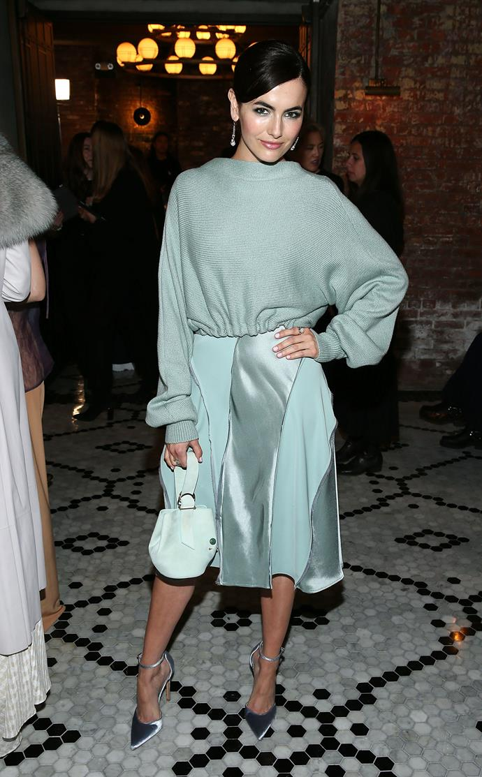 **Camilla Belle** at the Adeam Fashion Show.