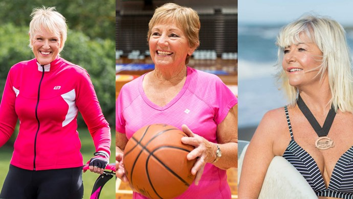 Sporty grandmothers who live by the motto just do it