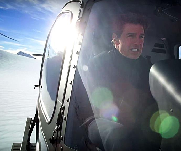 Tom Cruise Mission Impossible Fallout Helicopter Stunt