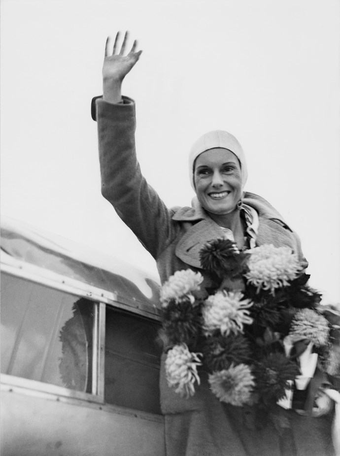 **Jean Batten**   Jean Batten was a famous aviatrix. Born in Rotorua in 1909, Batten became the most well-known New Zealander of the 1930s due to her successful and record-breaking flights across the globe. Batten flew solo from England to Australia in 1934; her trip took 14 days and 22 hours, beating the then current record of English aviatrix Amy Johnson by over four days.