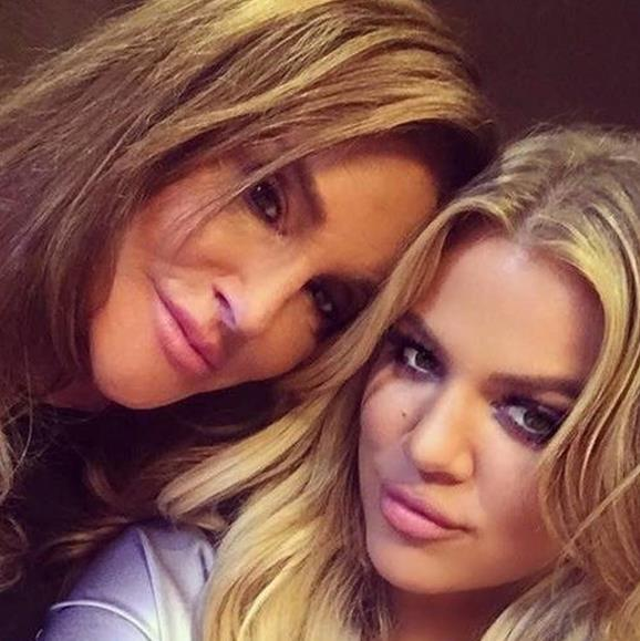 Caitlyn Jenner and Khloé Kardashian in happier times.