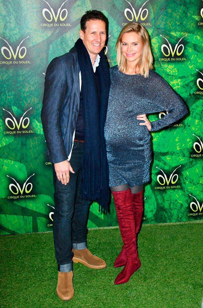 Brendan with his wife Zoe.