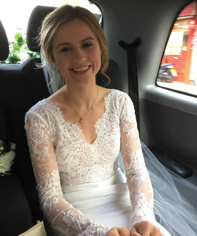 Clara Madden married Nick Loughran in December 2017.