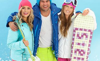 Jordan, Lily and Ali's Bachelor Winter Games snow-mance