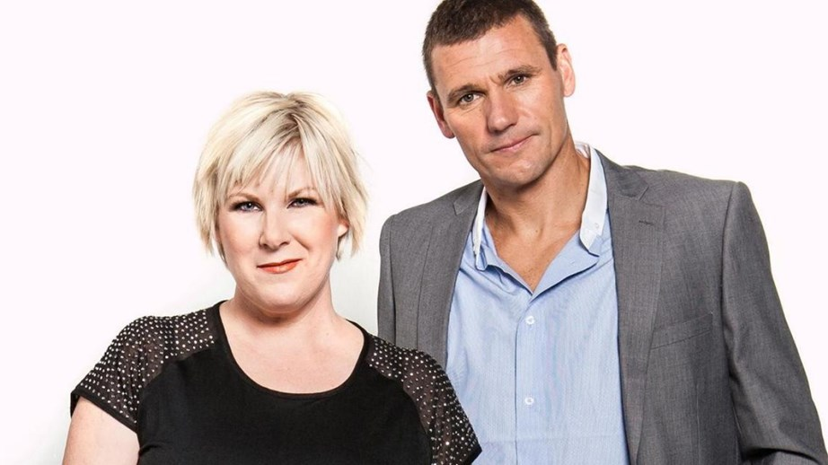 Jay-Jay and former husband Dom hosted the Edge breakfast show.