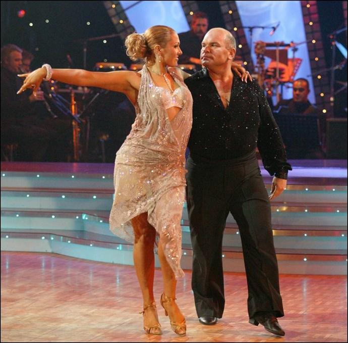 Rodney Hide and his dance partner Krystal Stuart.
