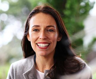 Jacinda Ardern appears in this month's Vogue