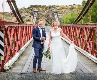 Wedding of the week: Brandon and Katherine Hodgson