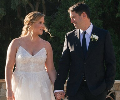 Amy Schumer marries chef Chris Fischer after just three months of dating