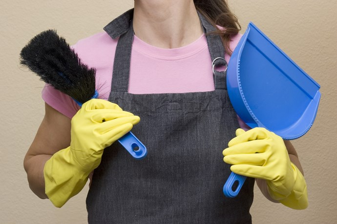 Cleaning the house as bad for women as smoking 20 cigarettes a day, study suggests