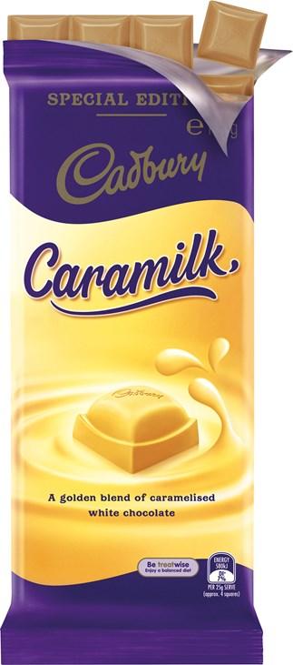 Choc Up On Cadbury Caramilk