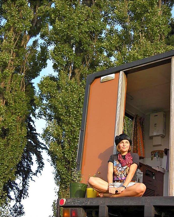 Features editor Fiona Ralph found that living in a house truck and van forced her to whittle her possessions down to the bare essentials - and the process was liberating.
