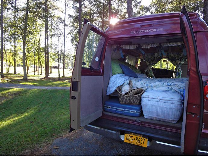 Fiona Ralph's van.