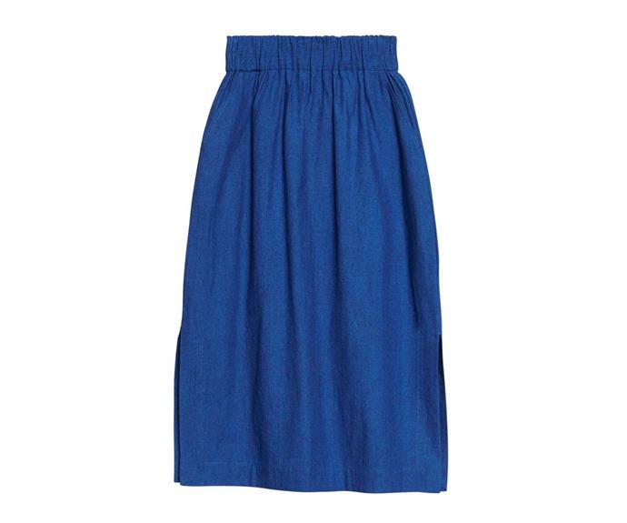 Skirt, $169, by Gorman.