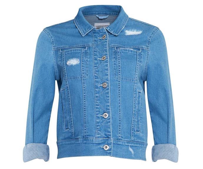 Jacket, $249, by Loobie's Story.
