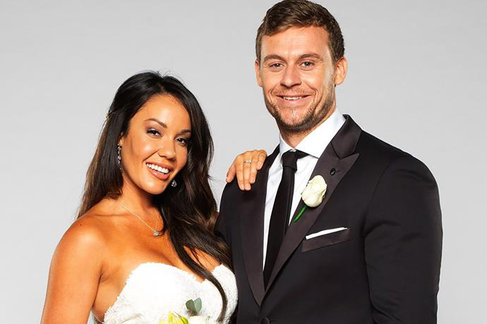 Davina and Ryan got off to a rocky start in their marriage.