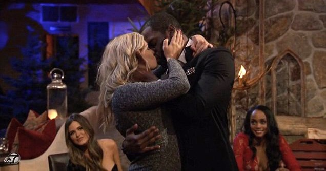 The kiss that sent Ally and Josiah home.