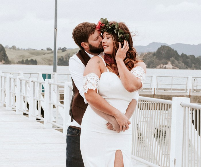 Wedding of the week: Rimu and Melissa Anderson