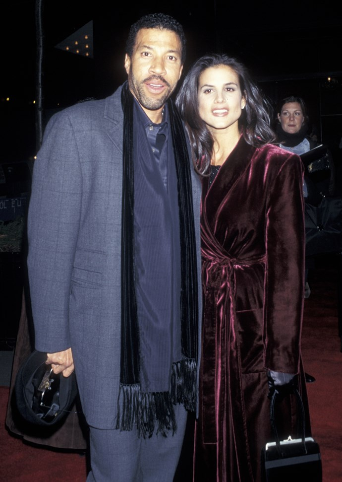 **Sophia Richie's** parents, Lionel Richie and Diane Alexander.