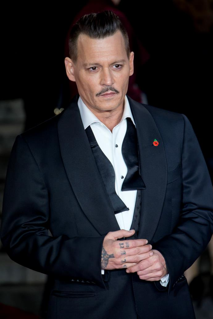 **Lily-Rose Depp's** father Johnny Depp.