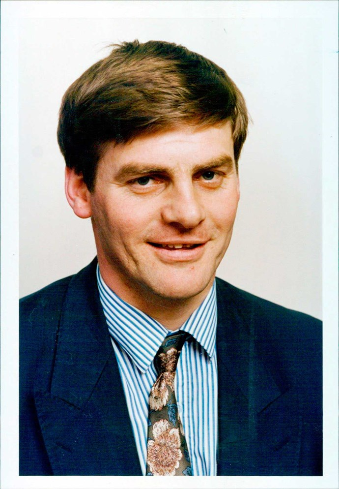 The National leader, then the MP for Wallace, is seen in 1993.