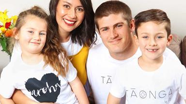 Warriors star Blake Ashford and his wife take on Te Reo