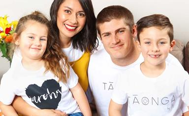 Warriors star Blake Ashford and his wife take on Te Reo