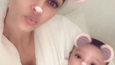 Kim Kardashian shares first photo of her and Kanye's West's child Chicago - and it was worth the wait!