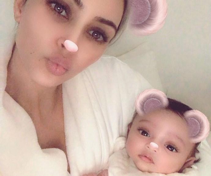 Kim Kardashian Chicago West