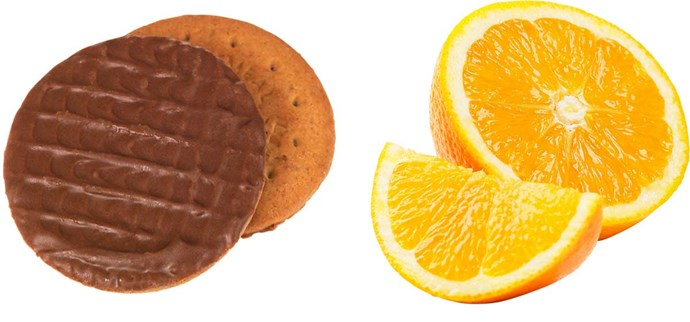 **Swap biscuits for an orange**                                                                                                                                                                                            Say no to mid-afternoon chocolate biscuits and yes please to fresh fruit.