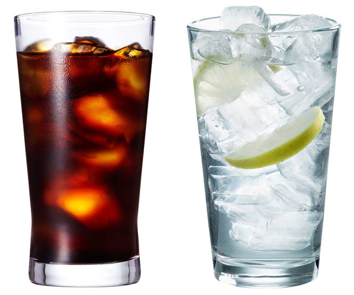 **Swap coke for sparkling water**                                                                                                                                                                                         Swap juices and fizzy drinks for water, sugar-free soda and juices with no added sugar.