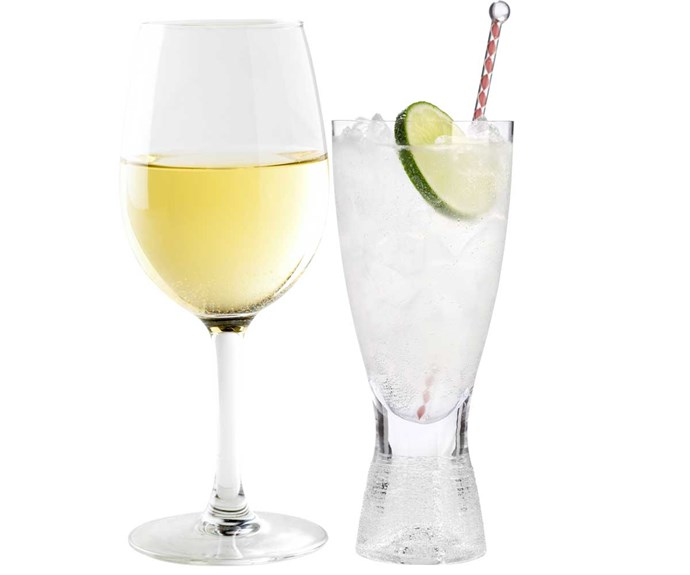**Swap wine for vodka**                                                                                                                                                                                                         Wine can really add to your waistline. Lay off the booze or choose something lower in sugar, such as vodka and soda.