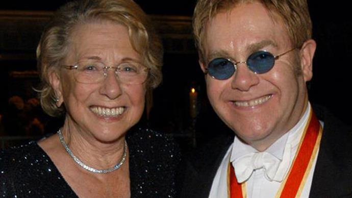 Elton John cut from late mother's will while former assistant gets half her fortune