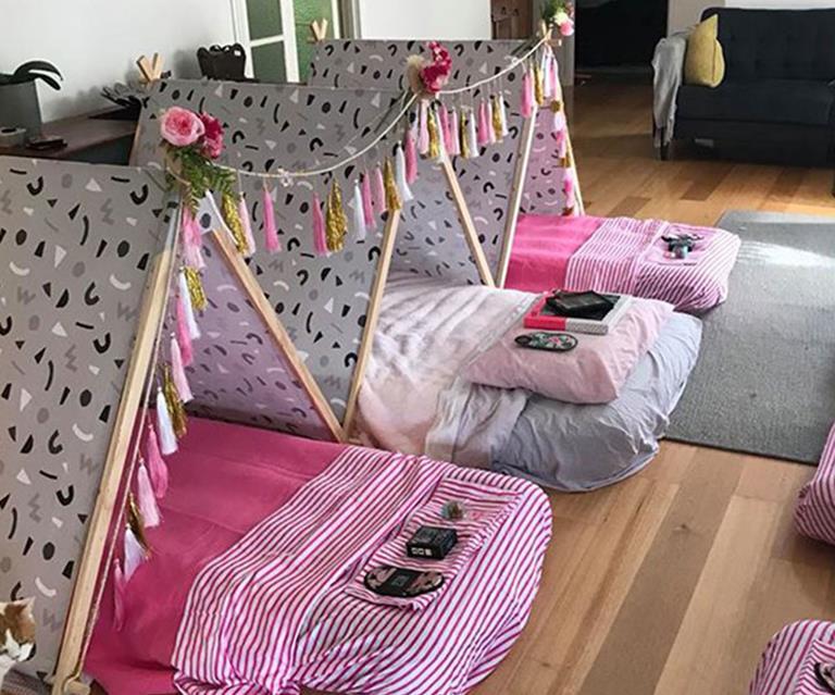 Mum Creates Dreamy Slumber Party Kit From Kmart