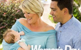 National party leader Simon Bridges introduces his newborn daughter