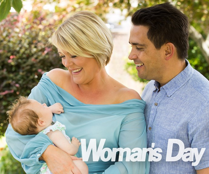 National party leader Simon Bridges introduces his newborn daughter