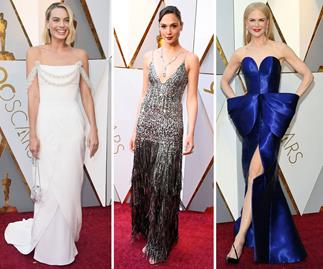 All of the glitz and glamour from the 2018 Oscars red carpet