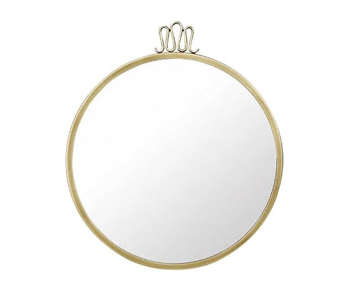 Gubi mirror, $1738, from Cult Design.