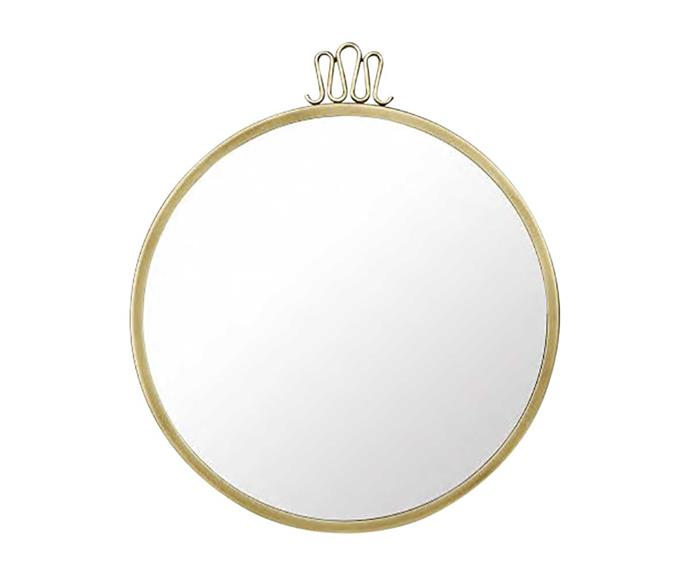 Gubi mirror, $1738, from Cult Design.