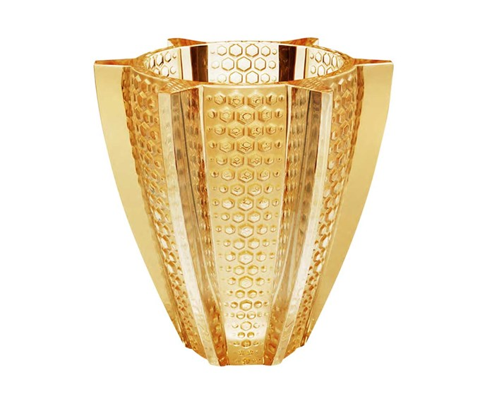 Lalique vase, $5325, from Cavit & Co.