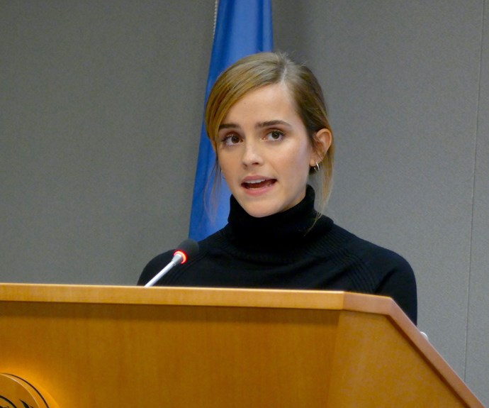 """**Emma Watson**  """"I feel like young girls are told that they have to be a princess and fragile. It's bullsh*t. I identify much more with being a warrior - a fighter.""""  *Via Grazia and the Now To Love team*"""