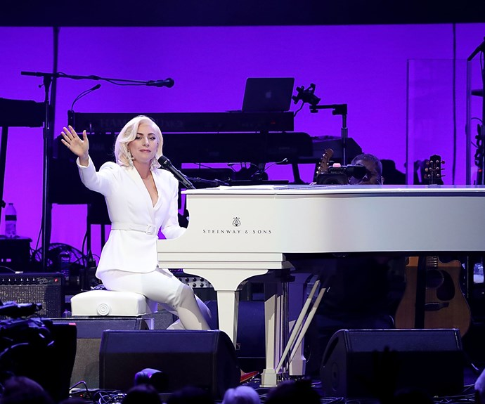 """**Lady Gaga**  """"When I say to you, there is nobody like me, and there never was, that is a statement I want every woman to feel and make about themselves."""""""