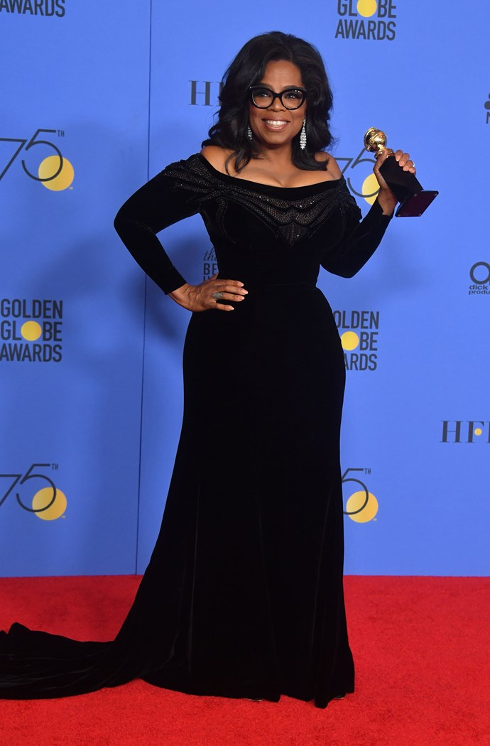 """**Oprah Winfrey**  """"Think like a queen. A queen is not afraid to fail. Failure is another stepping stone to greatness."""""""